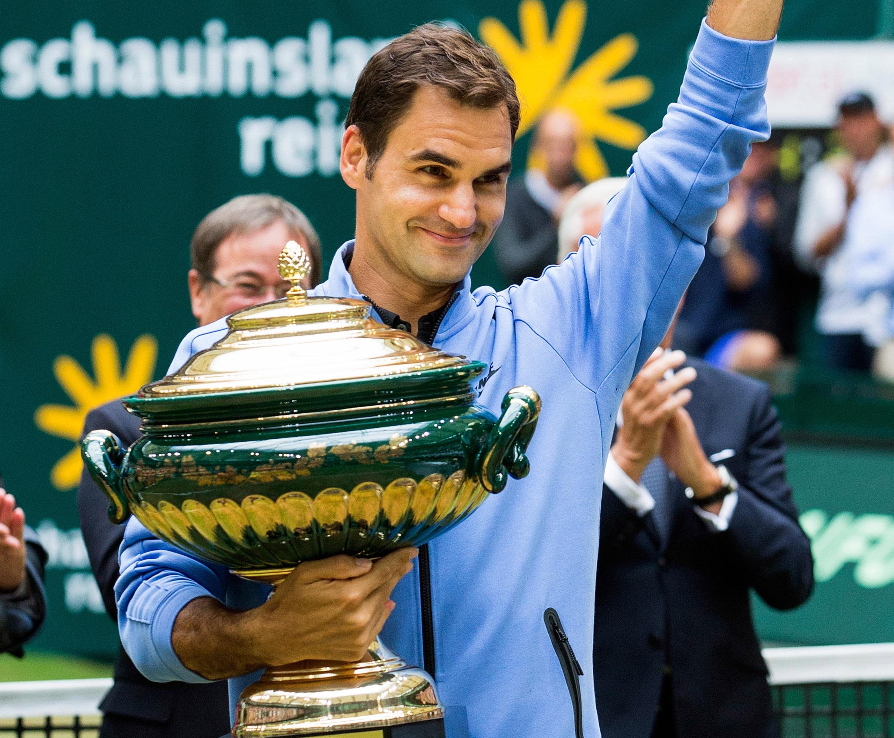 Roger Federer - ATP Halle