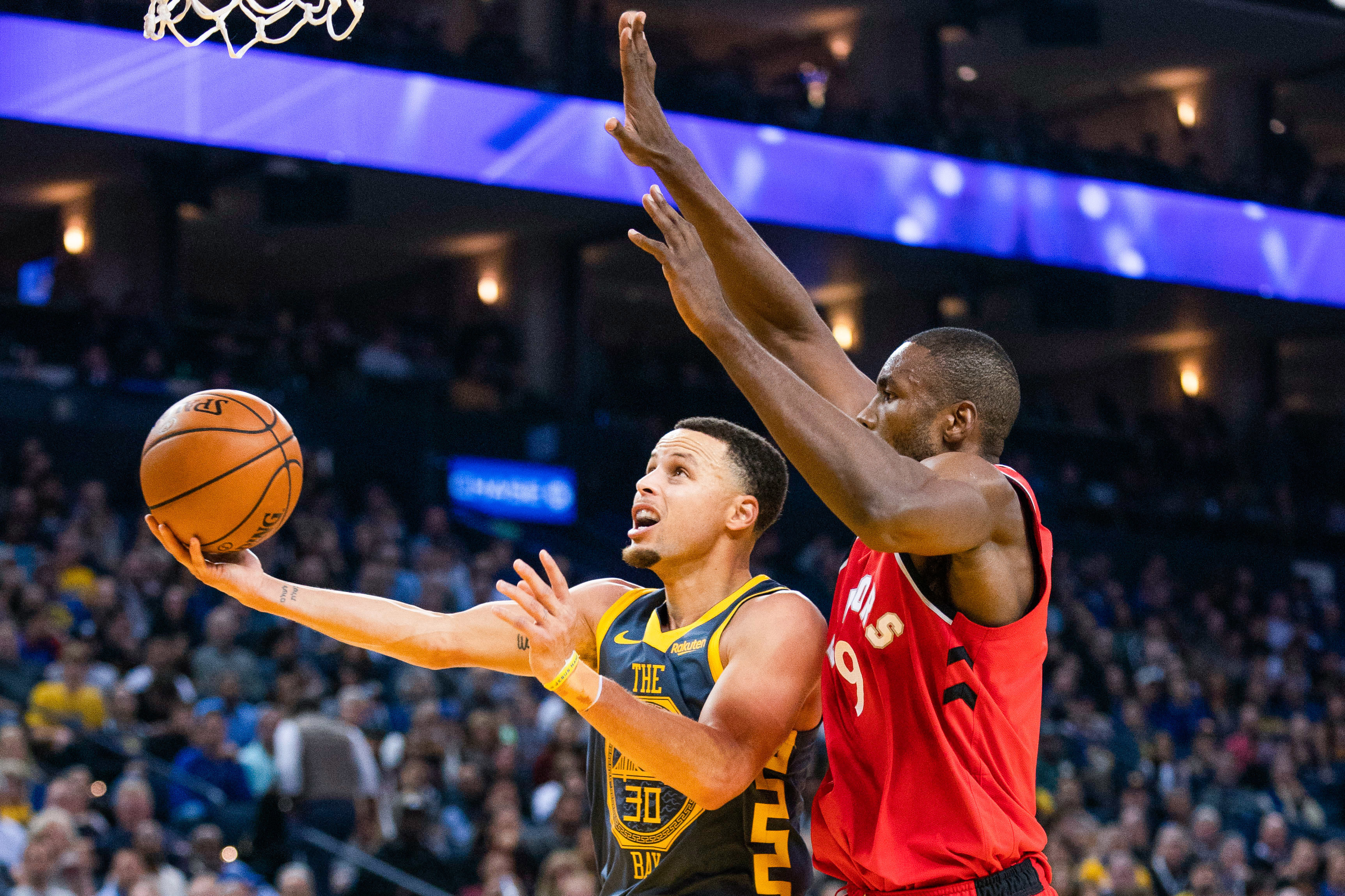 Toronto Raptors at Golden State Warriors