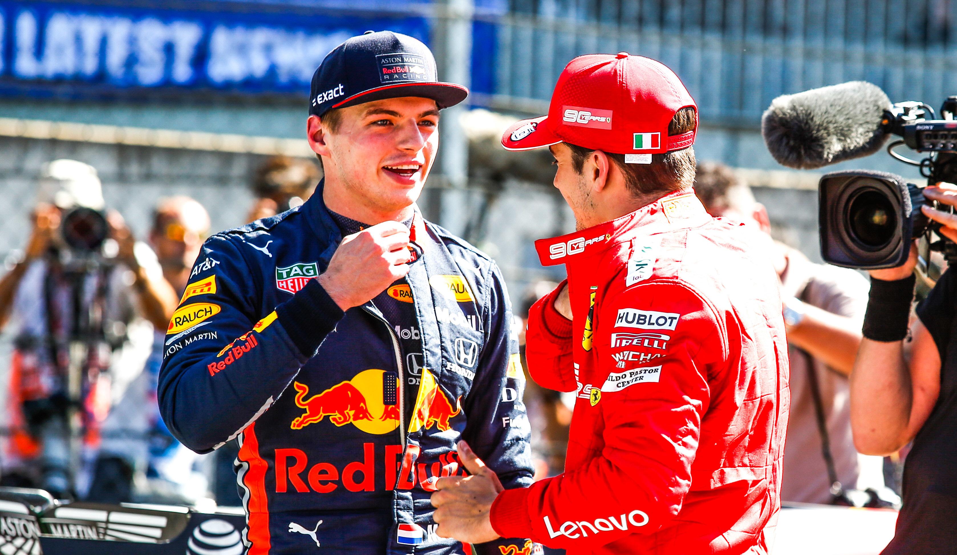Max Verstappen - Charles Leclerc - F1 2019