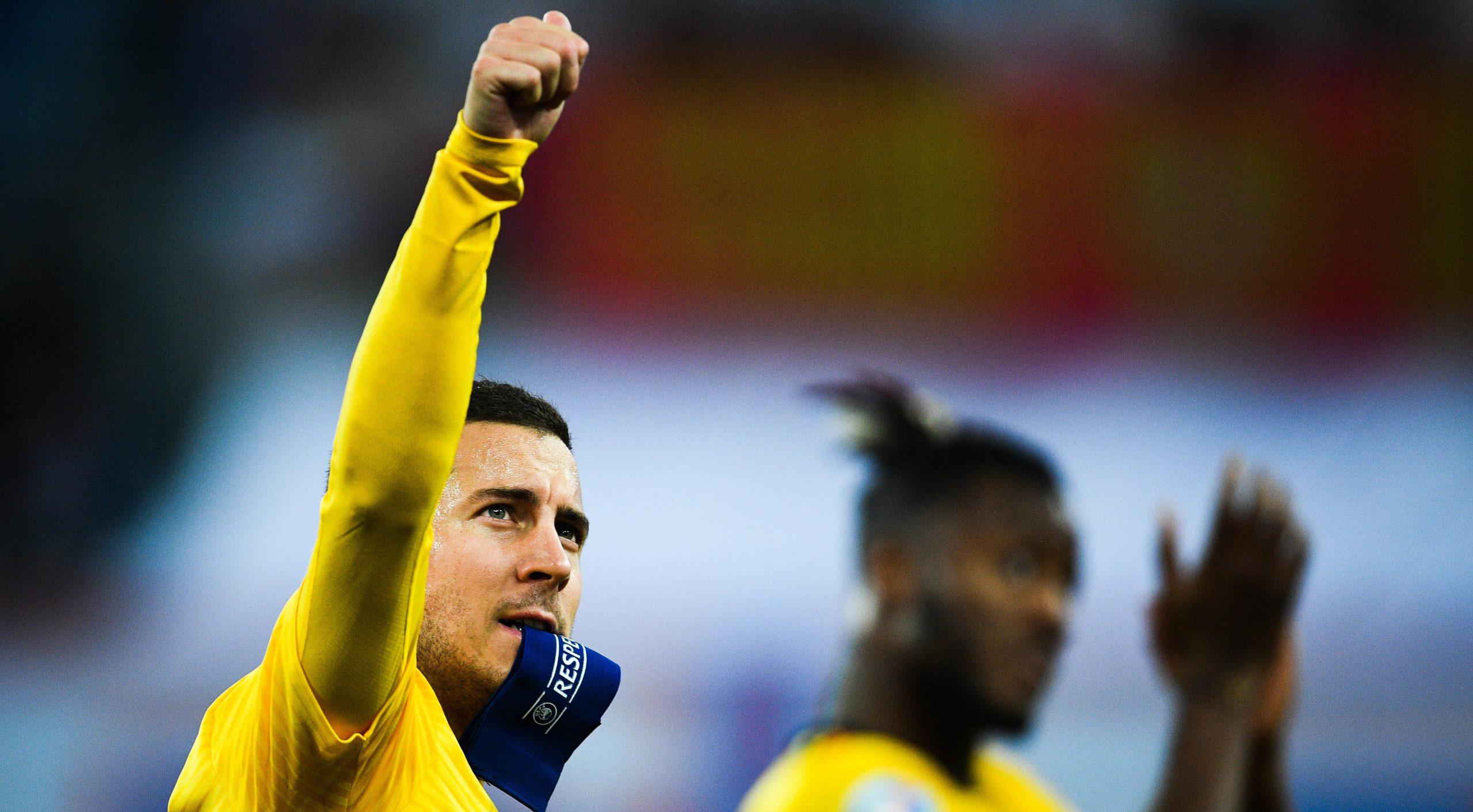 Belgium's Eden Hazard