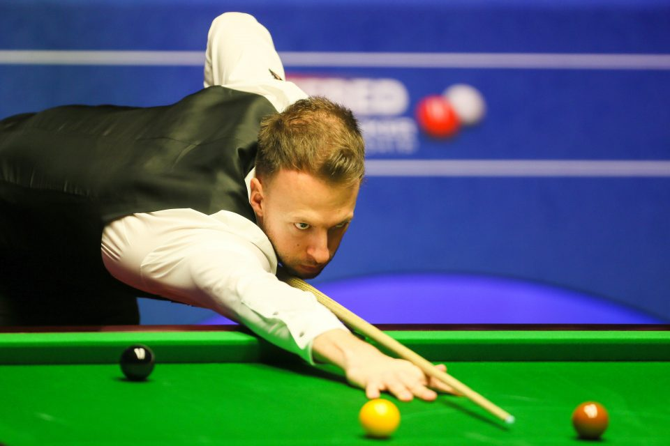 Championship Snooker - Judd Trump is the first player in snooker history to win six ranking titles in a single season - He can win a 7th by winning the Tour Championship in Wales