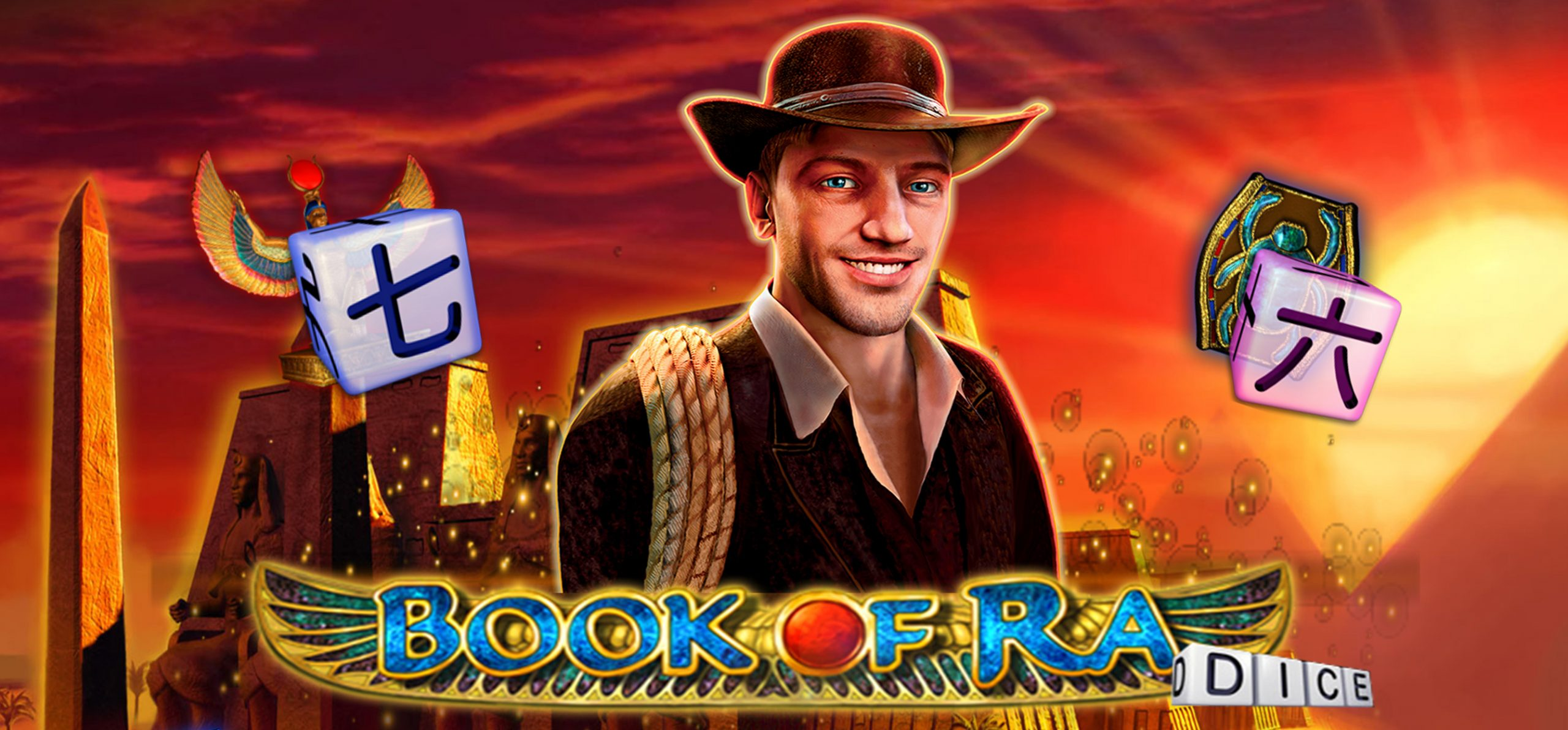 Discover the treasures of ancient Egypt with Book of Ra Dice on betFIRST Casino