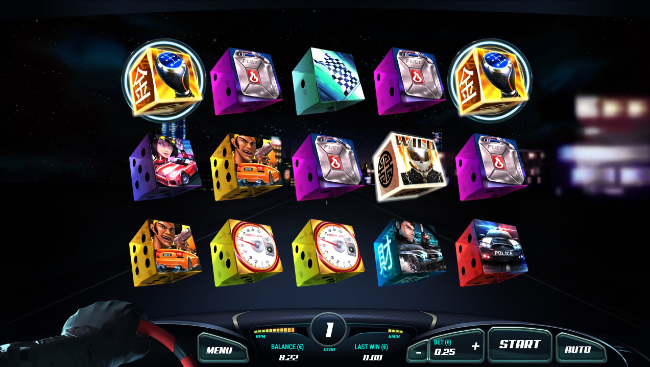 Experience the thrill of speed with the Octane Overdrive V8 Dice Slot on betFIRST Casino