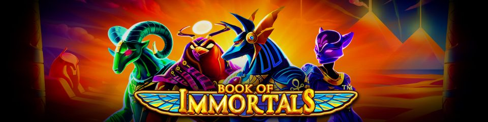 Book of Immortals takes a familiar Ancient Egyptian theme to betFIRST Casino