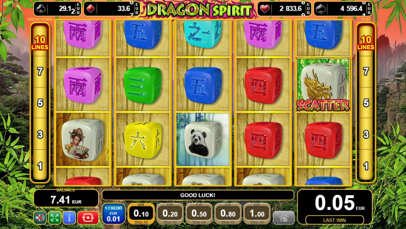 Dragon Spirit - EGT