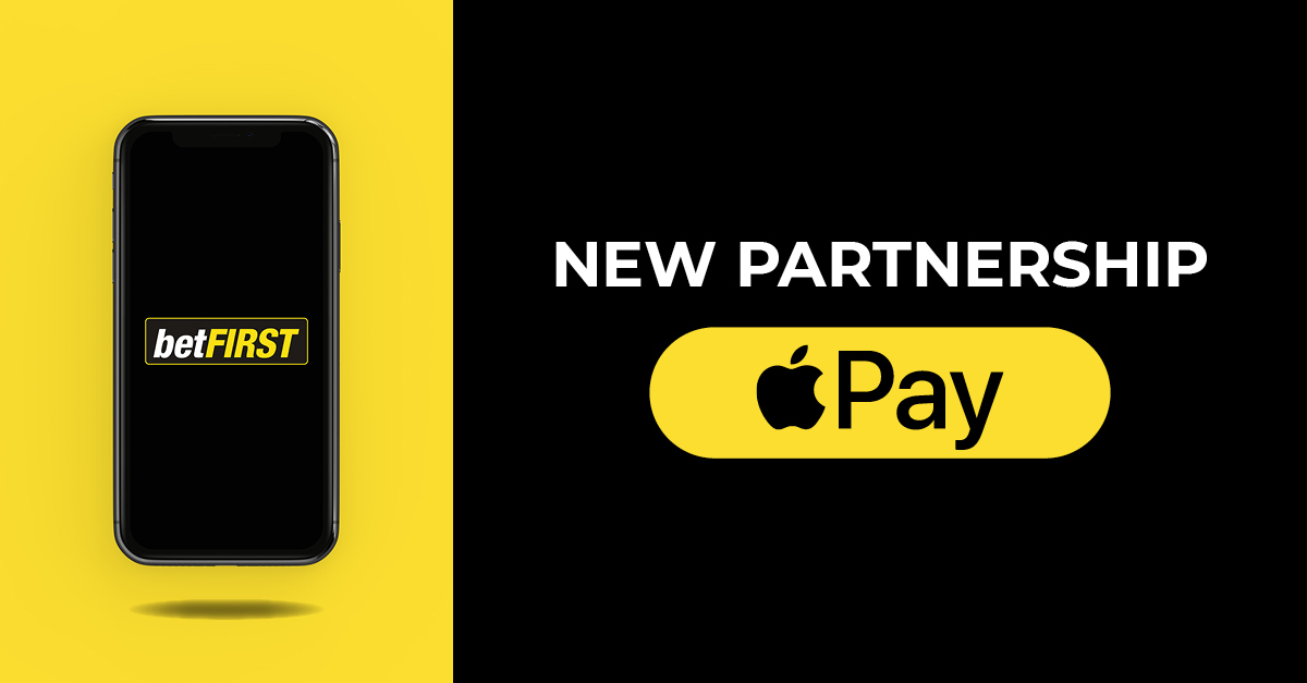 Apple Pay is now available on betFIRST