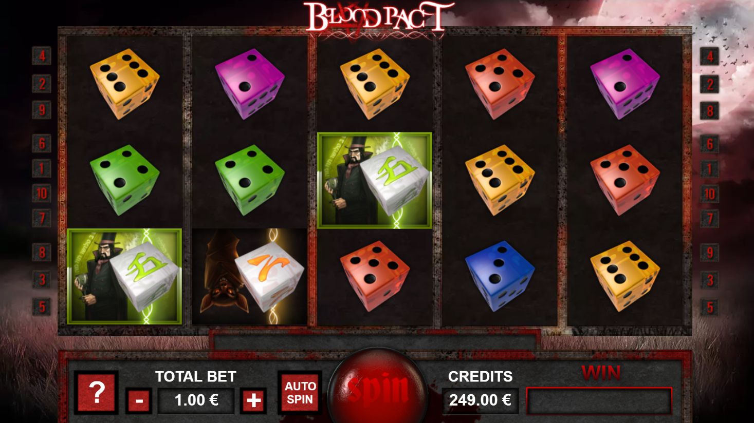 Blood Pact - Interface