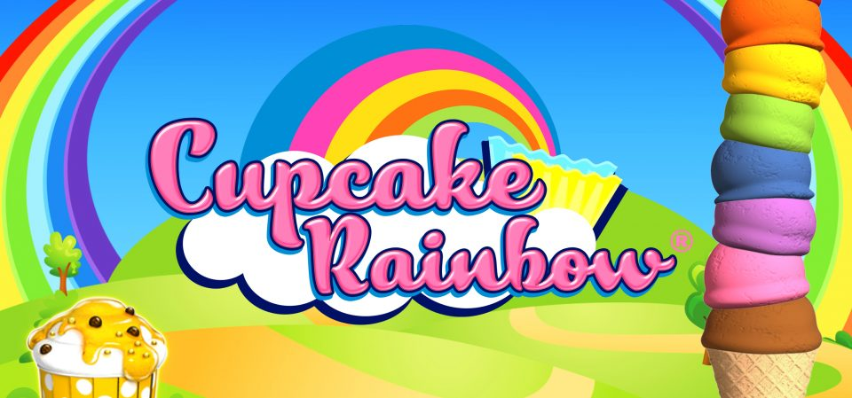 Get a real sugar rush by playing Cupcake Rainbow by Gaming1 on betFIRST Casino