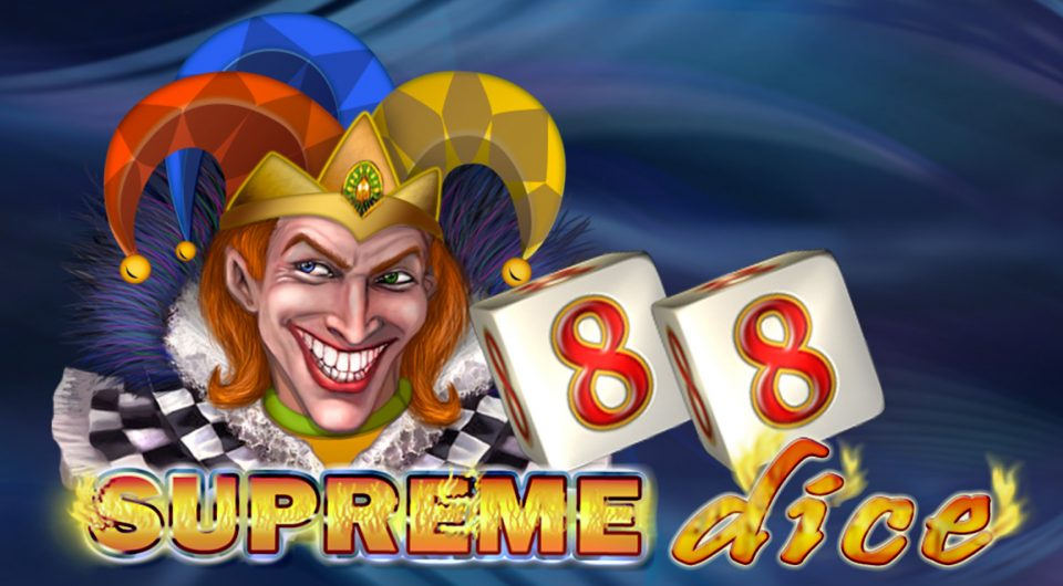 Grinning jokers, 27 paylines and four jackpots... Play Supreme Dice from EGT at betFIRST Casino