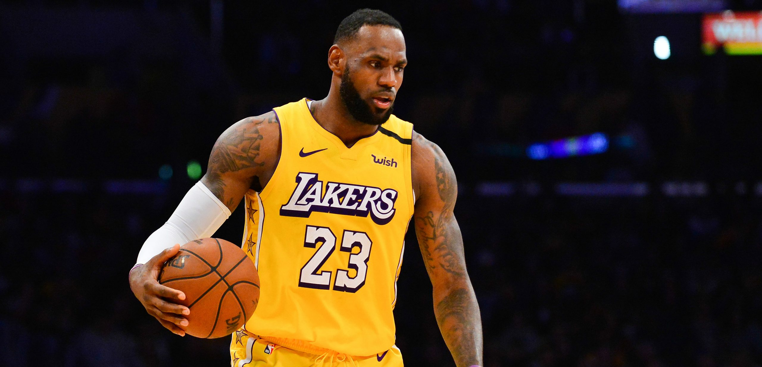 LeBron James from the LA Lakers probably still is the biggest star in the NBA - returning on betFIRST TV