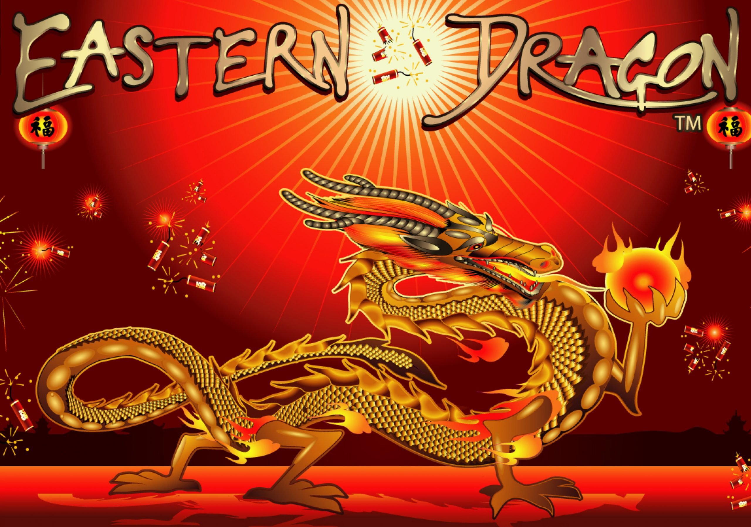 Take a trip to the Far East with dragons and Chinese Lanterns with Eastern Dragon dice slot on betFIRST Casino