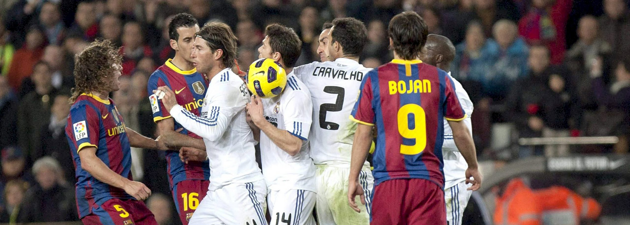 An old image of the Clasico between Barça and Real as we know it - Place your bets on betFIRST