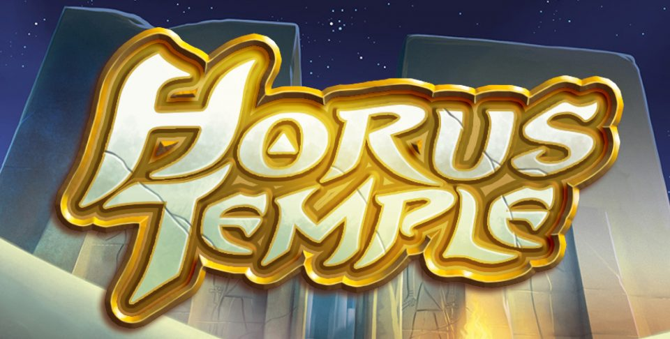 Dive into Egyptian mythology with Horus Temple - a dice slot on betFIRST Casino