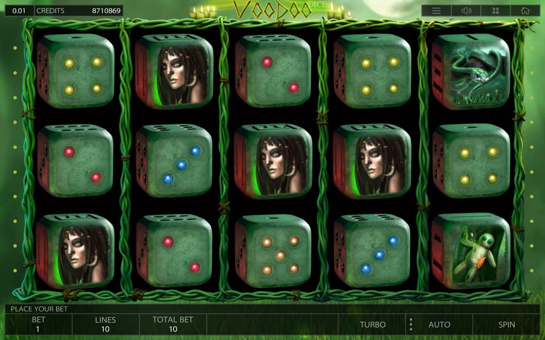 Voodoo Dice - Interface
