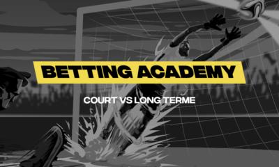 Betting Academy, la stratégie à court et long terme sur betFIRST