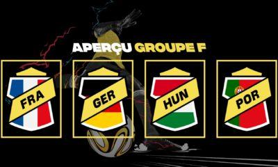 L'Allemagne et la France sont, selon les bookmakers, les favoris pour remporter le groupe F.