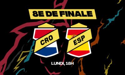 Lundi soir à 18h00, la Croatie et l'Espagne s'affronteront. Les meilleurs conseils sont disponibles chez betFIRST !