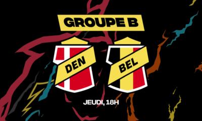 Prévoyez quelques paris à l'avance ou choisissez de parier en direct pendant Danemark-Belgique chez betFIRST !