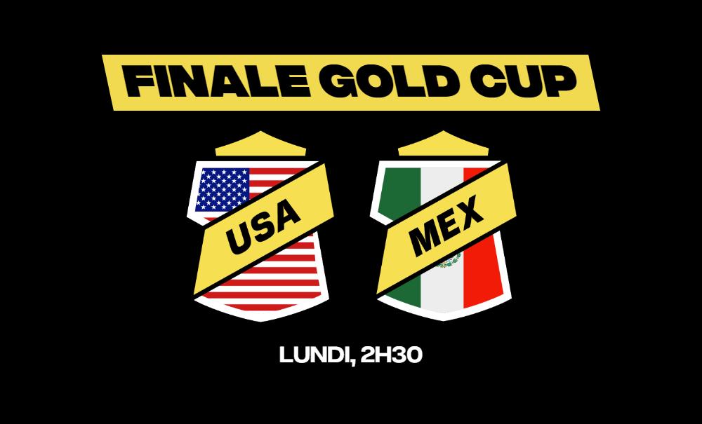 La finale de la Gold Cup opposera les États-Unis et le Mexique. Sur quoi parier avant le match ou en direct sur betFIRST