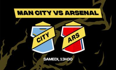 Vous voulez parier sur Manchester City-Arsenal Vous pouvez le faire chez betFIRST !
